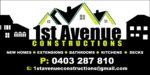 1st Avenue Constructions