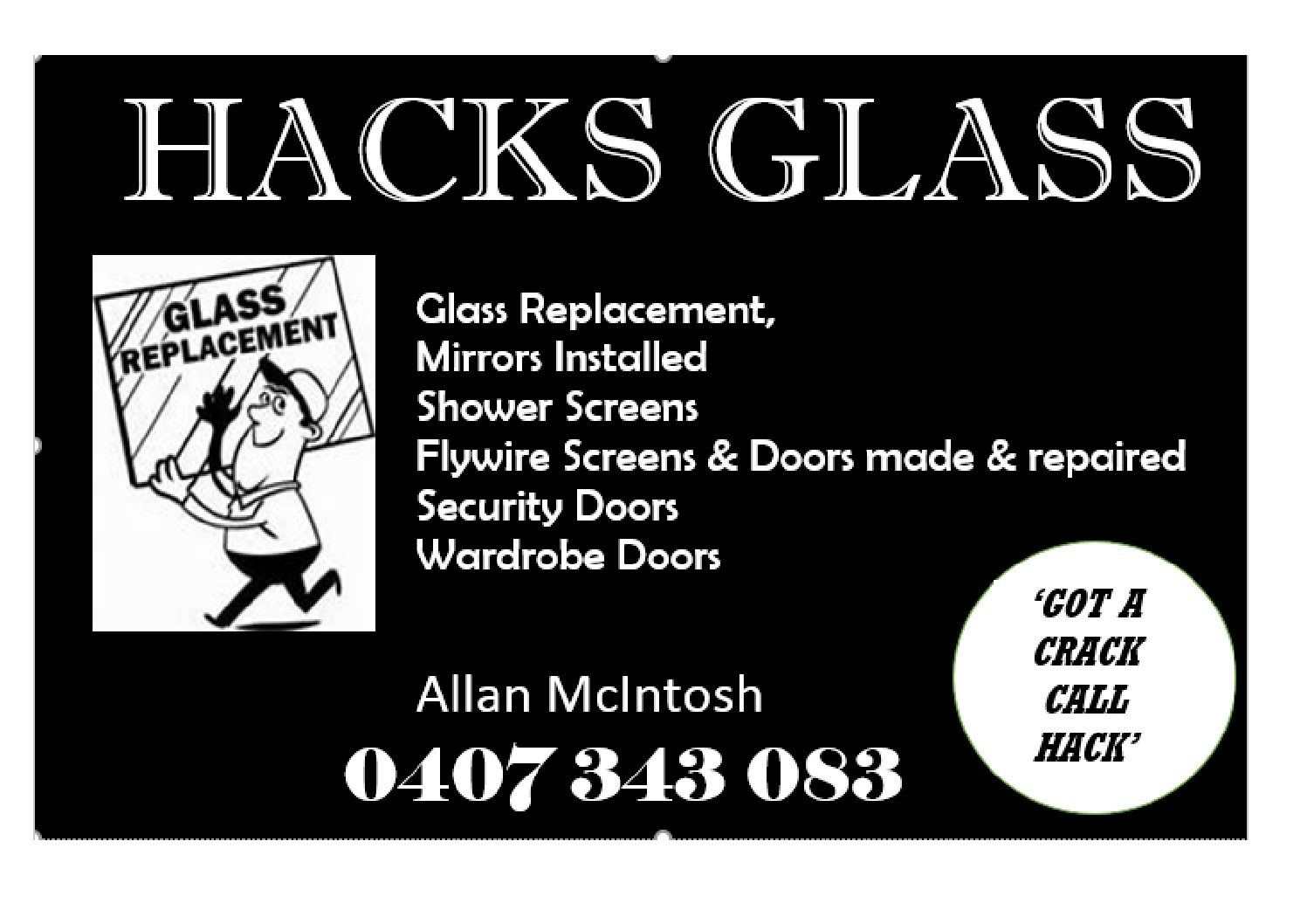 Hacks Glass